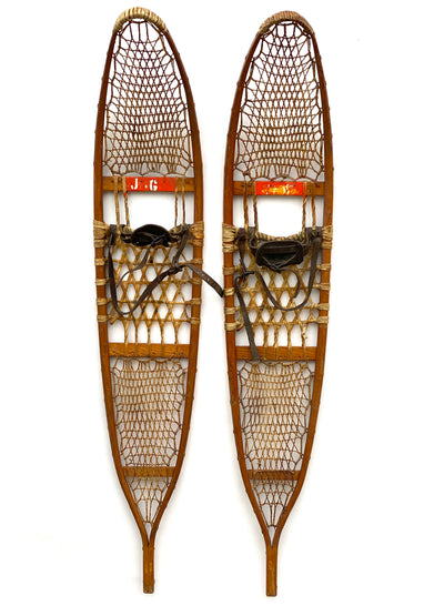 C.A. Lund Vintage Military Snowshoes 1942