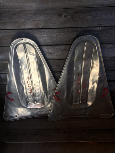 Unique Pair of Vintage Sno Wing Sleds