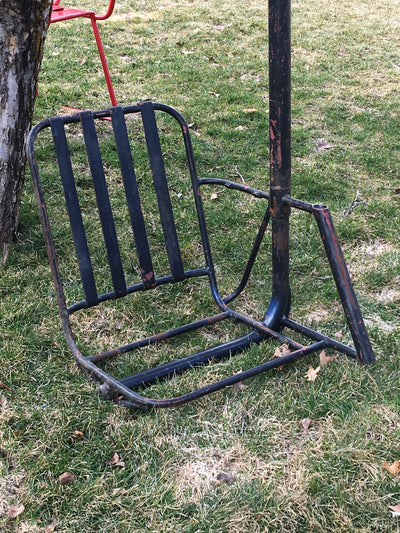 Original Vintage Sun Valley Single Ski Chairlift