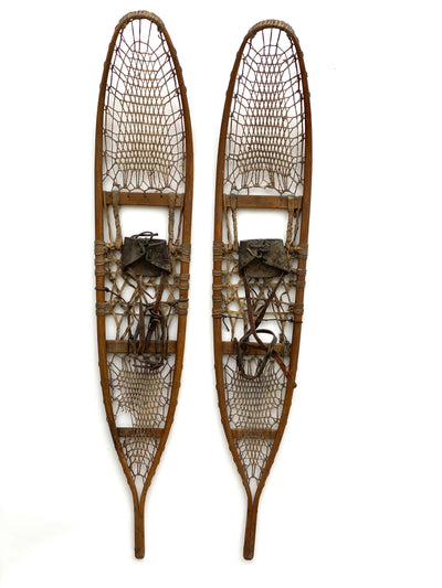 1942 C.A. Lund Vintage Military Snowshoes