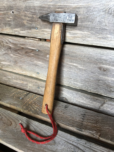 Vintage Wood Handle Rock Climbing Piton Hammer