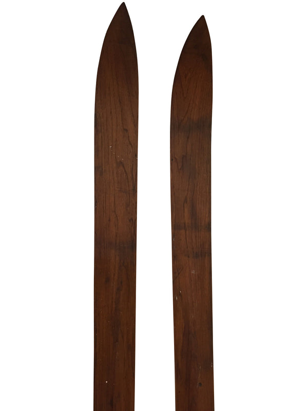 1930s Antique Northland Hickory Skis
