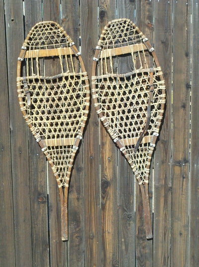 Antique Snowshoes - Patented 1903