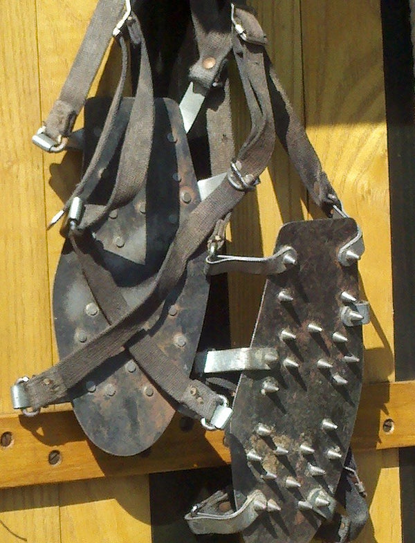Vintage Climbing Cleats
