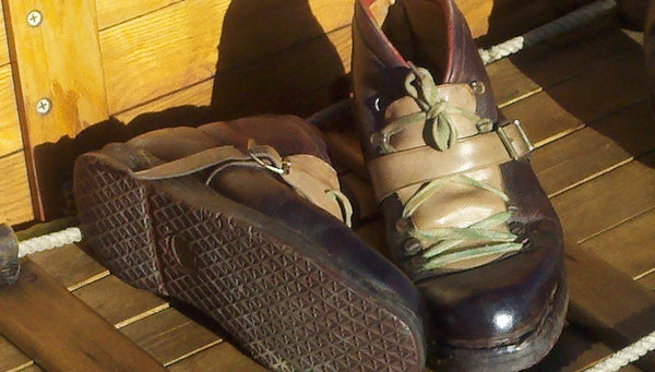 Vintage Skiing Boots