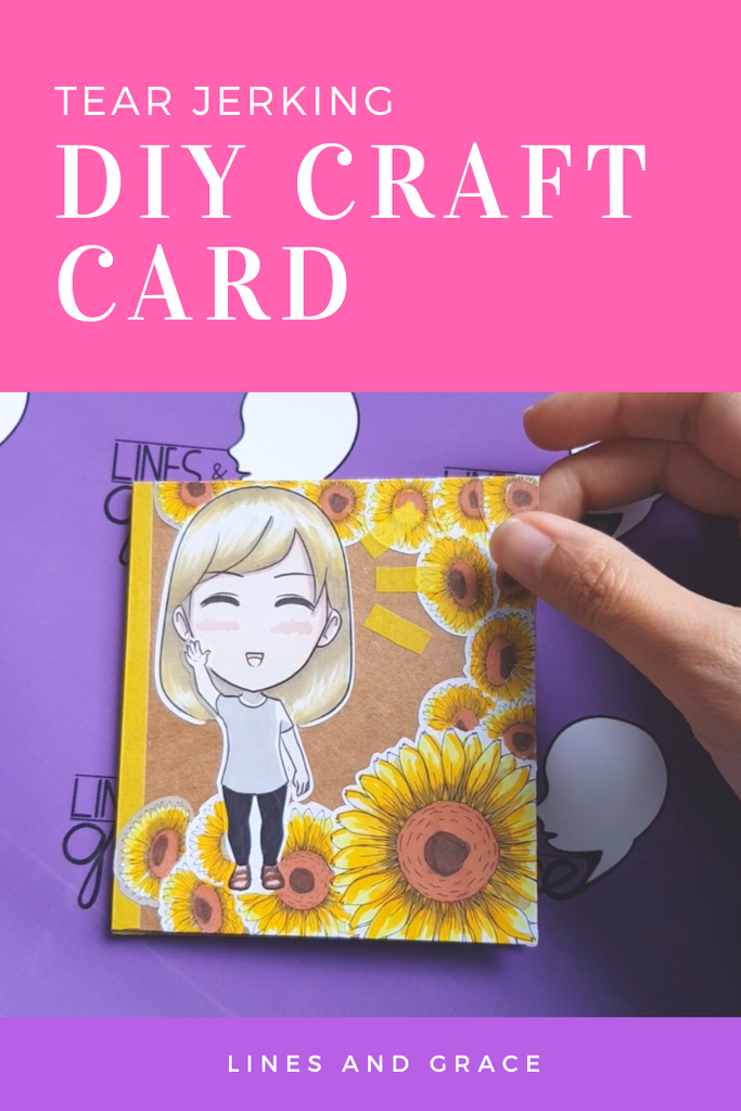 How to Make a Tear-Jerking Craft Card (DIY Farewell Booklet)