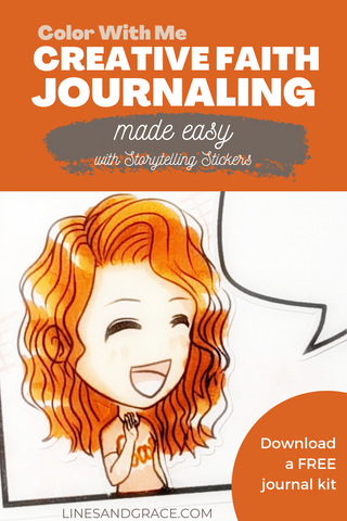 Creative Journaling Made Easy with Storytelling Stickers