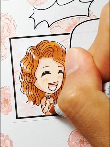 Coloring Storytelling Stickers