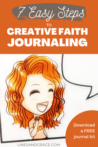 7 easy steps to creative faith journaling