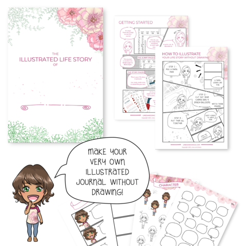 The Illustrated Life Story Journal printable