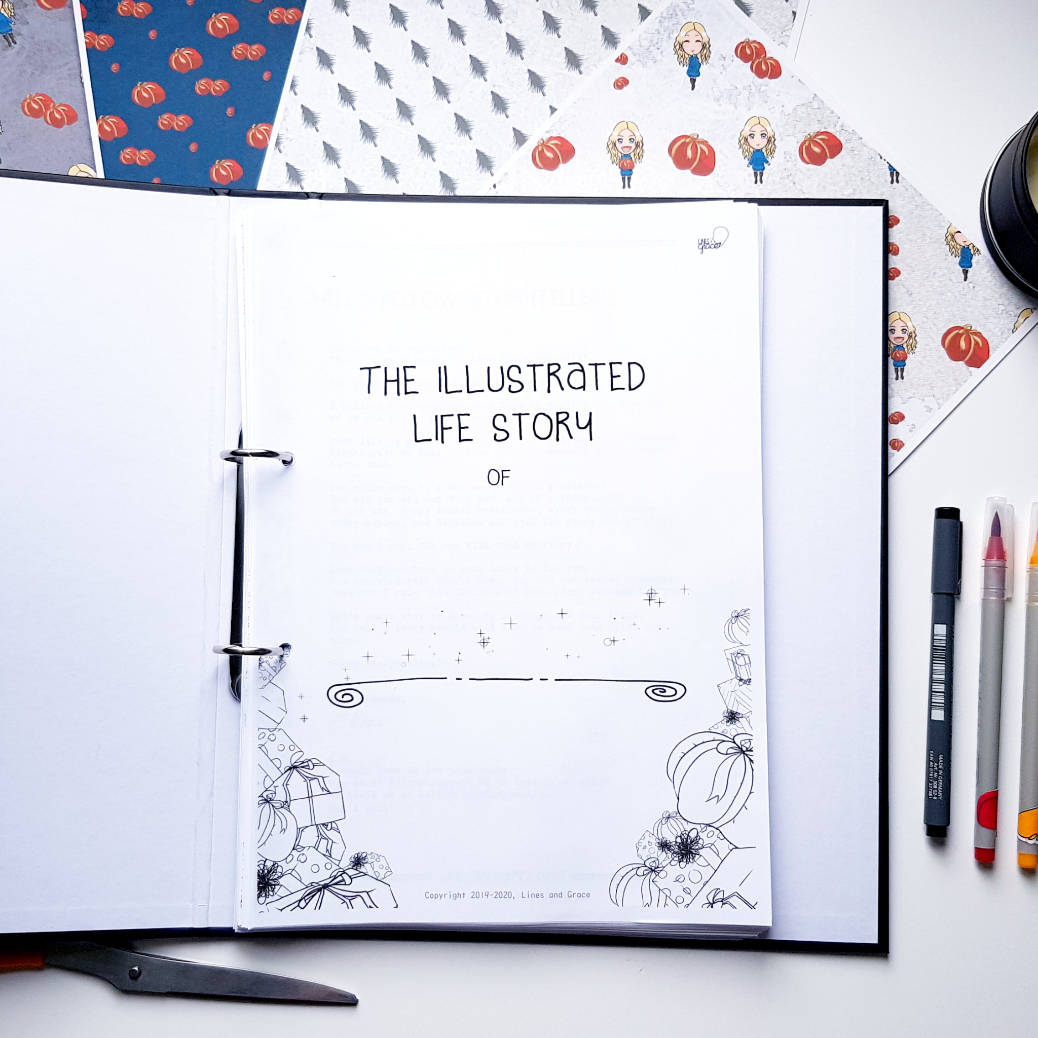 The Illustrated Life Story Journal