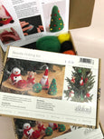 Ashford Christmas Ornament Needle Felting Kit