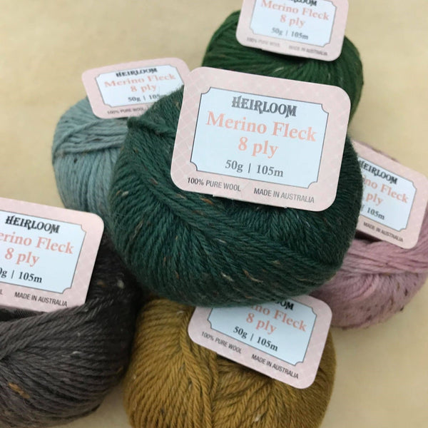 Heirloom Merino Fleck 8 ply