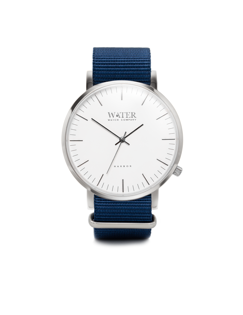 Harbor, Silver/White/Blue Nato