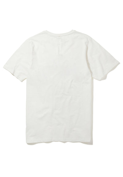 Recovered Disney Mickey Dabbing Ecru Slub T-Shirt