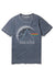 Recovered Pink Floyd Dark Side of the Moon Prism Blue T-Shirt