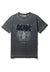 Recovered AC/DC Plug Me In Logo Charcoal T-Shirt