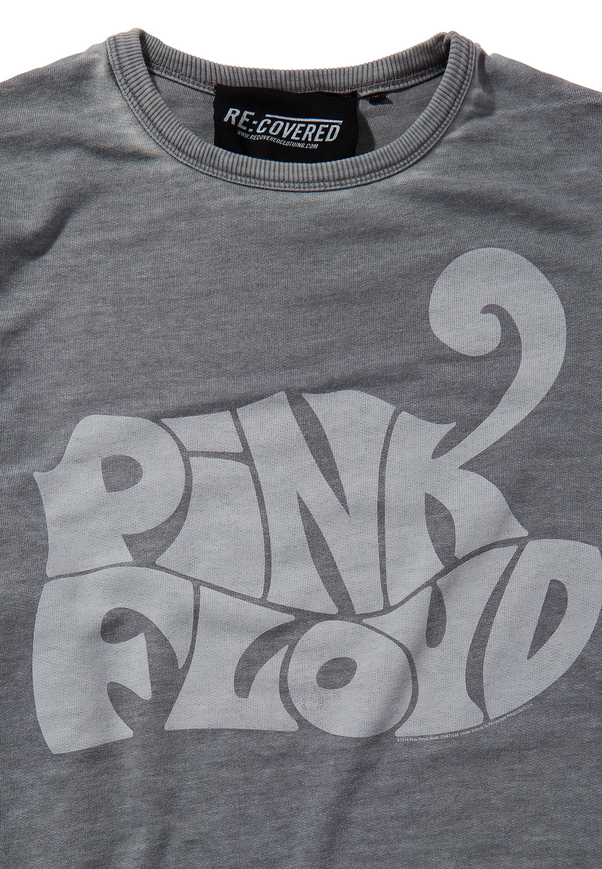 Recovered Pink Floyd Animals 1972 Logo Mid Grey Sweatshirt