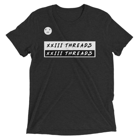 XXIII Threads B&W Short sleeve t-shirt