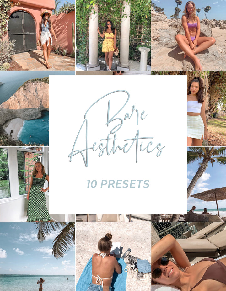 Bare Aesthetic Collection - 10 Presets
