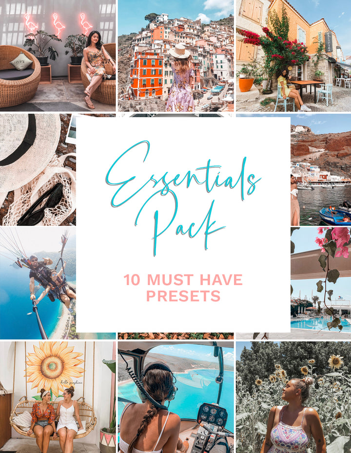 The Essentials Pack - 10 Presets [Second Release]