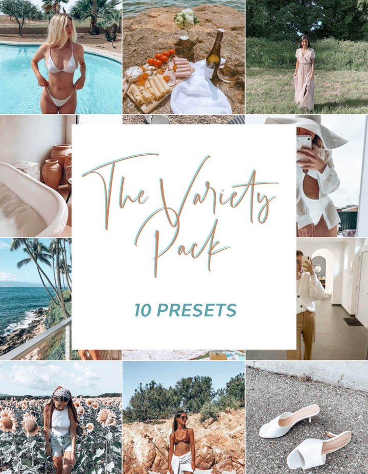 The Variety Pack - 10 Presets
