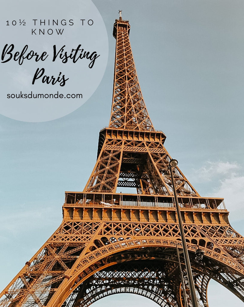 what to know before visiting paris
