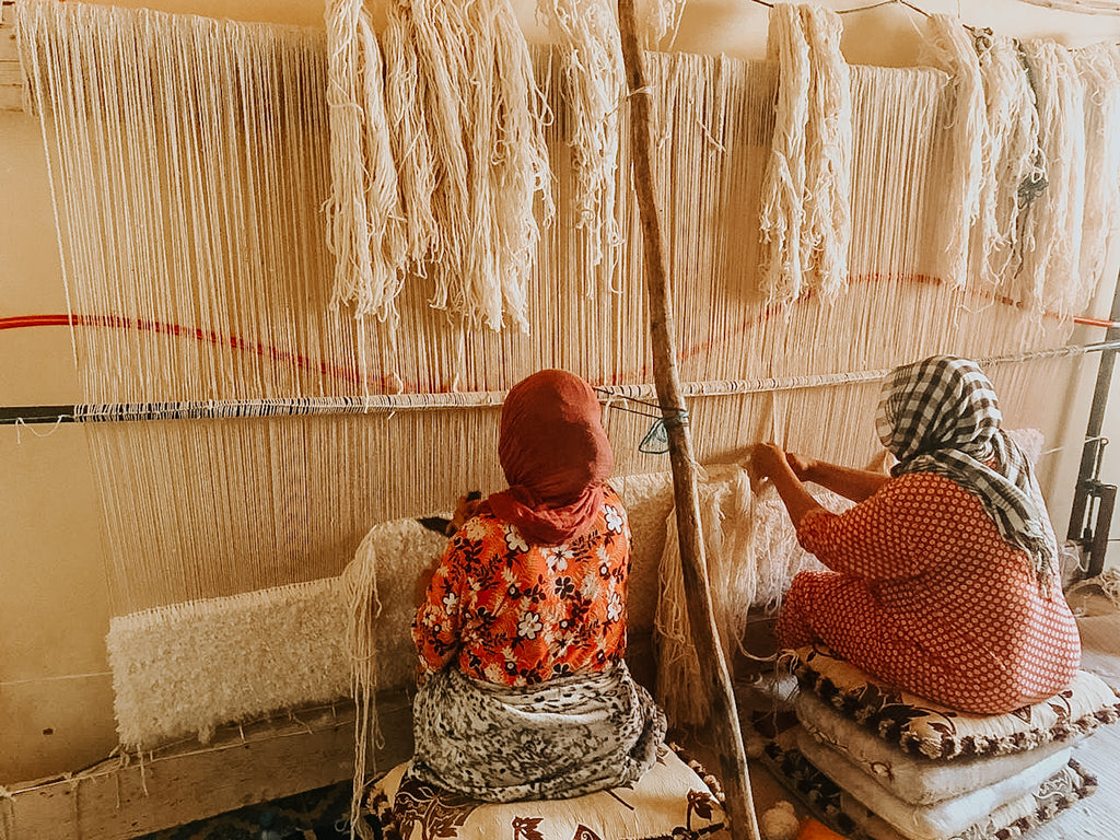 moroccan rug weavers womens cooperative