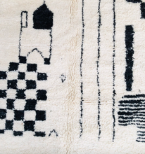 "Load image into Gallery viewer, Beni Ourain Area Rug - 9'11"" x 6'8"" - souks du monde"