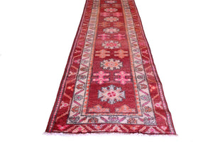 "Herki Turkish Runner 127 – 2'10"" x 11'6"" - souks du monde"