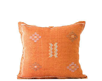 Sabra Statement Pillow Cover - Sunburst - souks du monde