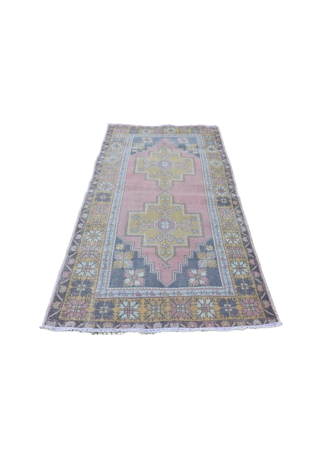 Turkish Vintage Rug  4'5