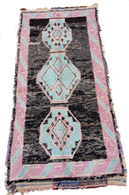 "Load image into Gallery viewer, Boucherouite Rug 9'2"" x 5'3"" / 280 × 160 cm - souks du monde"