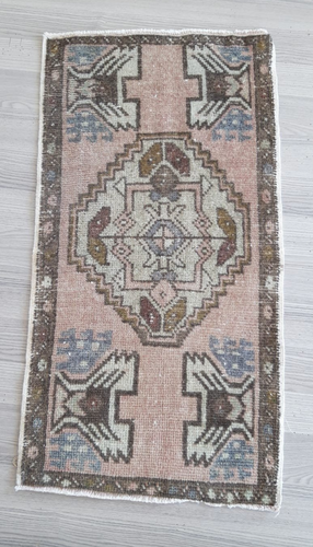 Turkish Vintage Rug - Tiny - 2'10