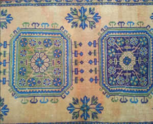 "Turkish Runner - 11'5"" x 2'8"" - souks du monde"