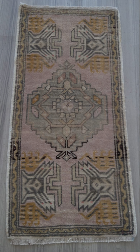 Turkish Vintage Rug - Tiny - 3' x 1'8