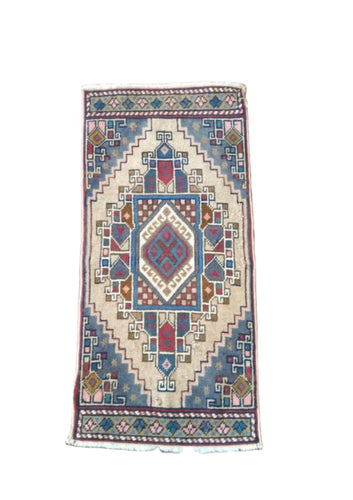 Turkish Vintage Rug - 3'3