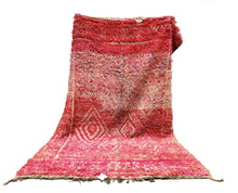 "Load image into Gallery viewer, Beni M'Guild Area Rug 9' x 5'9"" - souks du monde"