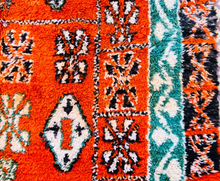 "Load image into Gallery viewer, Beni M'Guild Area Rug 9'11"" x 6'7"" - souks du monde"