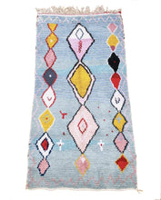 "Load image into Gallery viewer, Boucherouite Rug 6'7"" x 3'5"" - souks du monde"