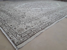 "Load image into Gallery viewer, Vintage Overdyed Turkish Rug - 9'4"" x 5'11"" - souks du monde"