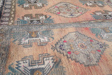 "Load image into Gallery viewer, Pair of Turkish Vintage Rugs - 3'1"" x 1'5"" / 3'5"" x 1'5"" - souks du monde"