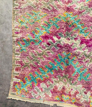 "Load image into Gallery viewer, Beni M'Guild Area Rug 6'3"" x 4'2"" - souks du monde"