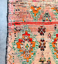 "Load image into Gallery viewer, Boujad Rug 10'2"" x 4'8"" - souks du monde"