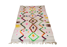 "Load image into Gallery viewer, Azilal Flatweave Rug 7'1"" x 4'6"""