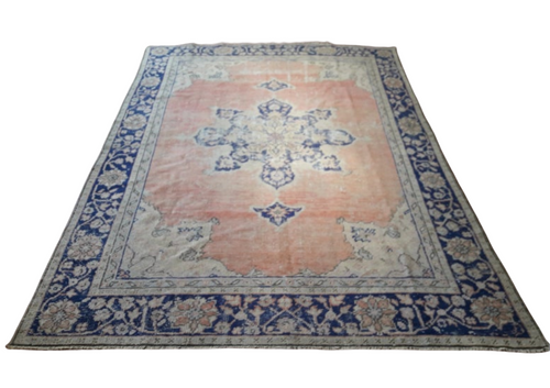 Turkish Vintage Rugs - 10'3