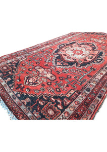"Vintage Turkish Runner 3'3"" x 6'2"" - souks du monde"