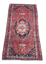 "Load image into Gallery viewer, Vintage Turkish Runner 3'3"" x 6'2"" - souks du monde"