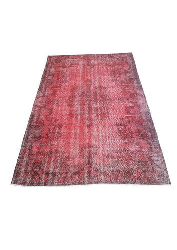 Vintage Overdyed Turkish Rug - 9'2