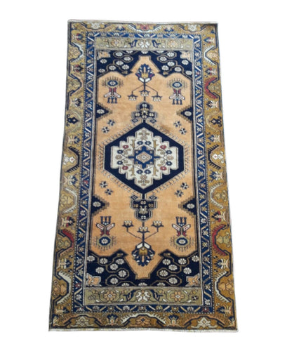 Vintage Turkish Runner 6' x 3'3